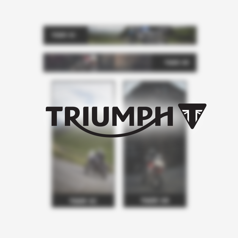 Triumph Tiger 800 Html Banners